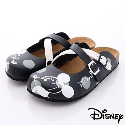 Disney迪士尼-Mickey軟木涼鞋款-FO 64771 黑(女段)