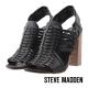 STEVE MADDEN--羅馬編織高跟涼鞋