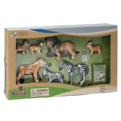 Wenno動物模型 動物系列 現有野生動物7入 WEW06002