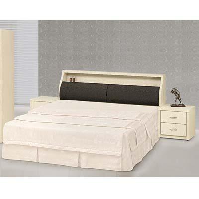 時尚屋 白雪松5尺床箱型雙人床