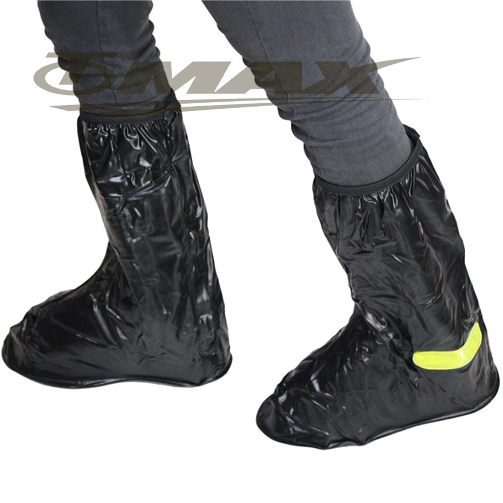 天龍牌新版反光塑膠雨鞋套 -1雙
