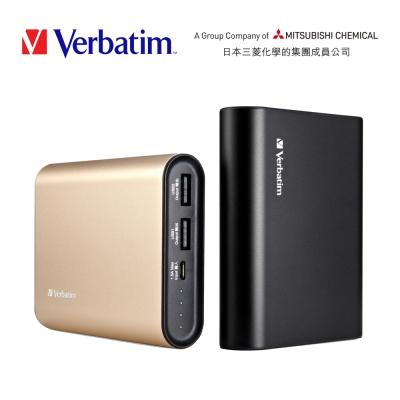 Verbatim 鋁合金10400mAh行動電源