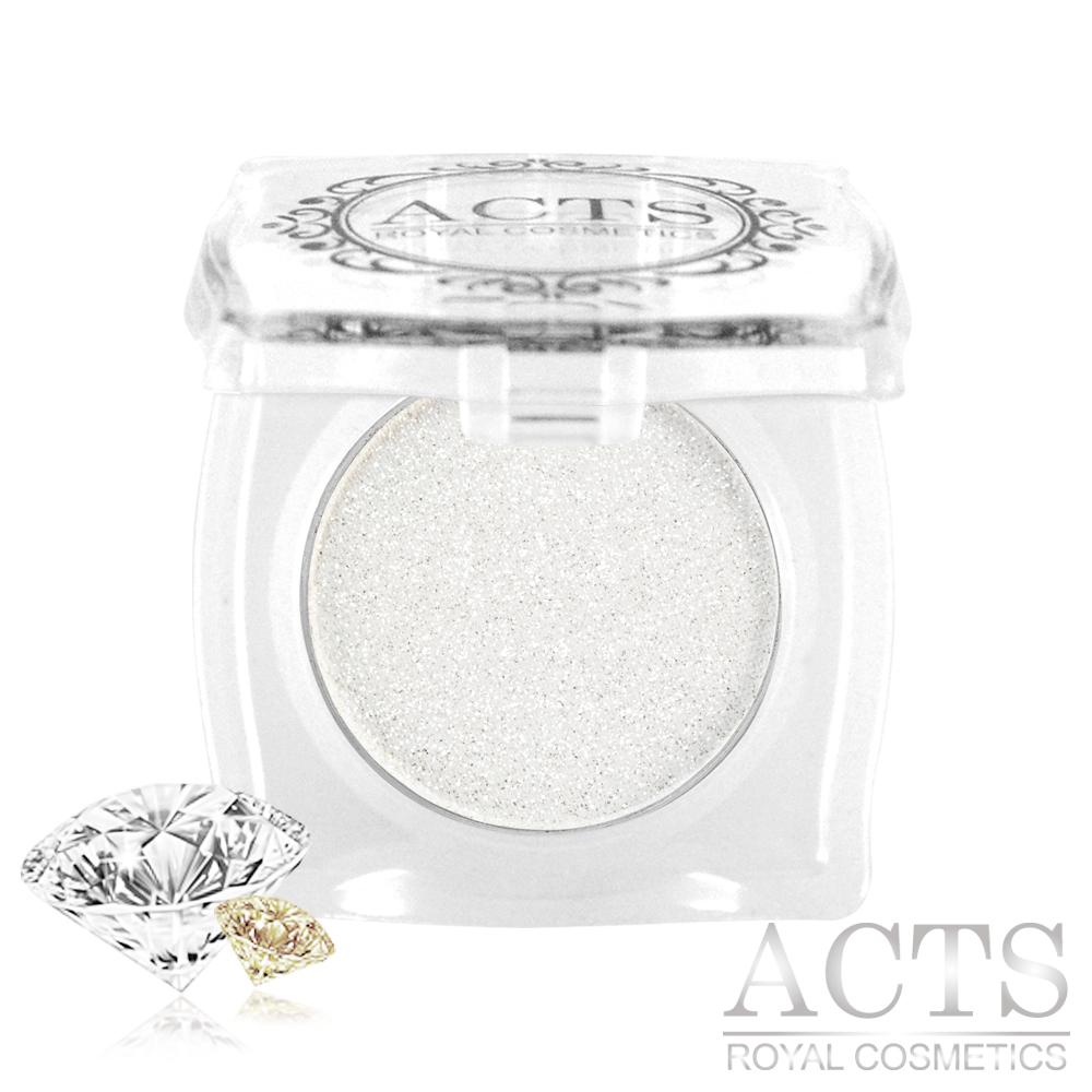 ACTS維詩彩妝 魔幻鑽石光眼影 靜謐白鑽D710
