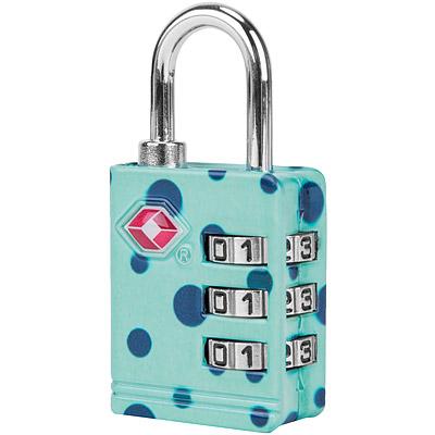 TRAVELON TSA三碼防盜密碼鎖(藍點)