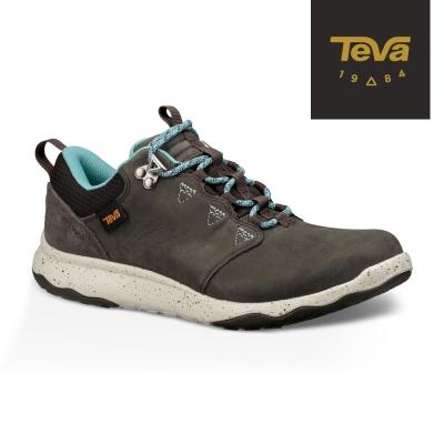 TEVA 美國-女 Arrowood Lux 輕量防水機能休閒鞋 (黑橄欖)