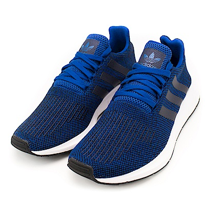 ADIDAS SWIFT RUN 男慢鞋 CG4118 深藍