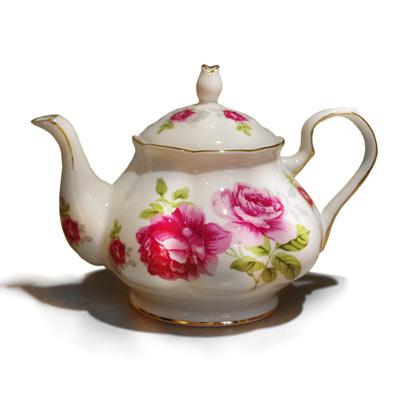【秘密花園】南瓜瓷壺