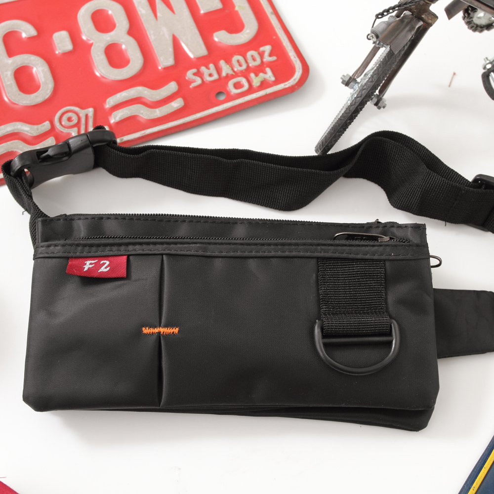 DF BAG SCHOOL - 旅遊小幫手貼身腰包-共2色