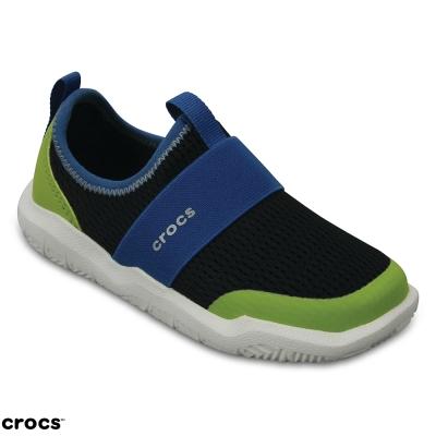Crocs 卡駱馳(童)  激浪束帶童鞋-204022-07U
