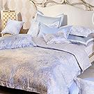 義大利La Belle 絢藍之光 單人三件式舖棉兩用被床包組MIT