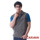 CARAVA《多口袋戶外背心》(墨綠)