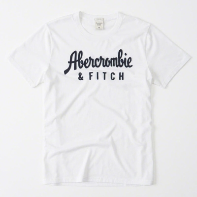 AF a&f Abercrombie & Fitch 短袖 T恤 白色 323