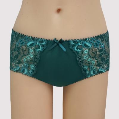 曼黛瑪璉 Hibra大波  低腰平口內褲(內斂綠)