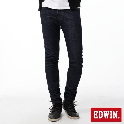 EDWIN 大尺碼窄直筒 EDGE LINE牛仔褲-男-原藍色