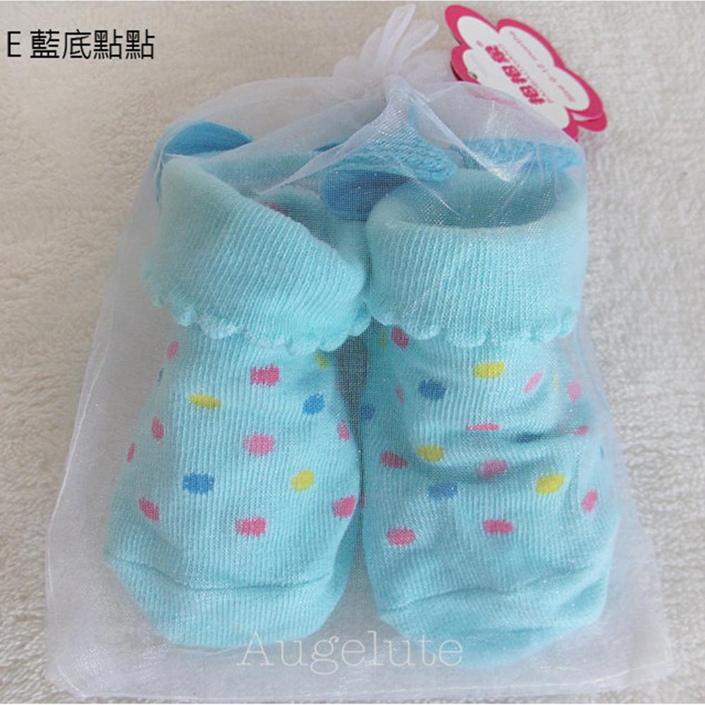 baby童衣 立體花邊防滑全棉 新生兒 公主襪 26207 product image 1