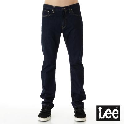 Lee 牛仔褲 726 中腰標準小直筒-男款-深藍