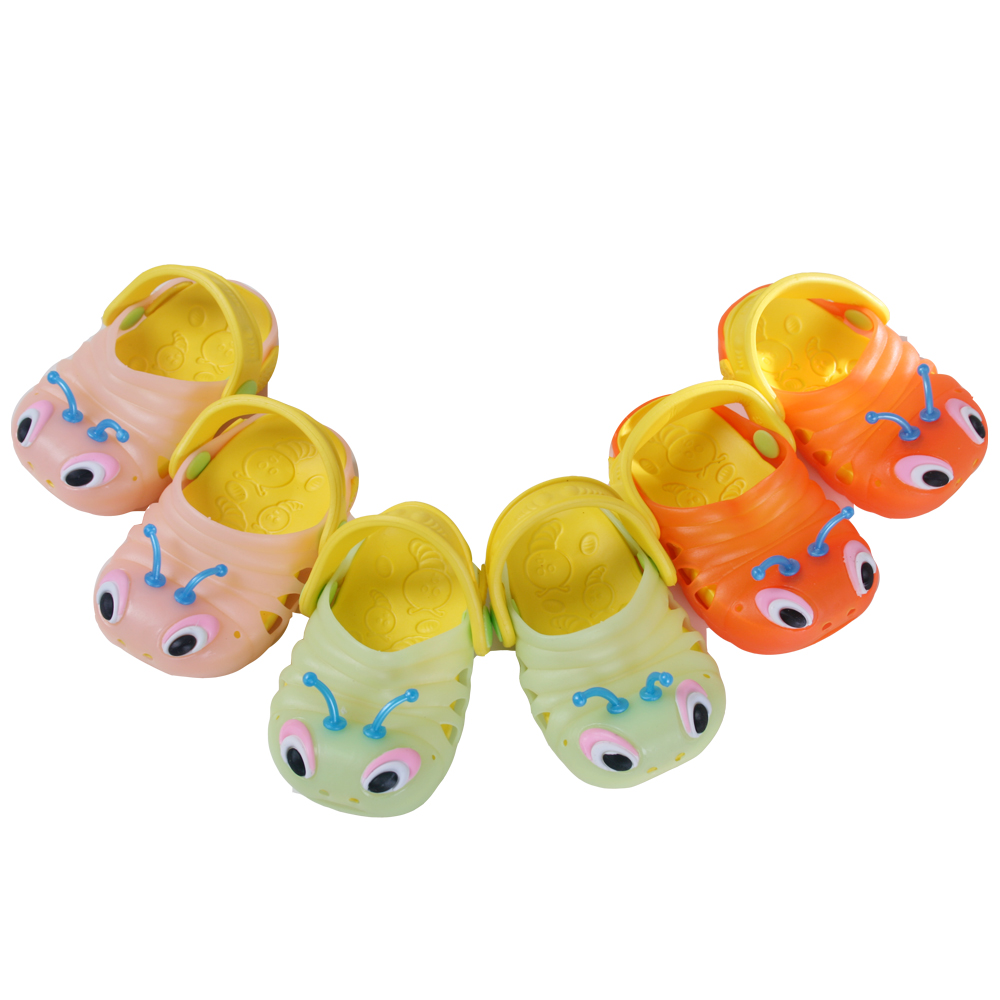 魔法Baby~超Q果凍色毛毛蟲造型水陸輕便鞋(果凍綠.粉.桔三色選擇)~sh2761