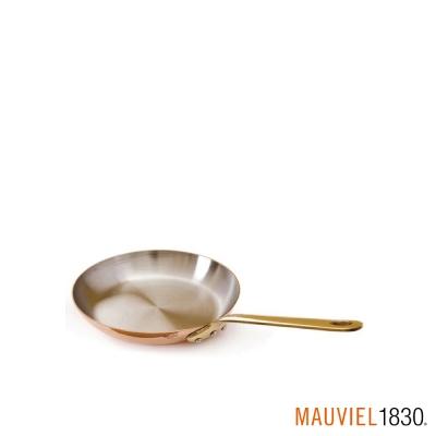 法國Mauviel-紅銅單手平底鍋-直徑12cm