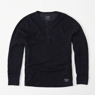 AF a&f Abercrombie & Fitch 長T 藍色 0105