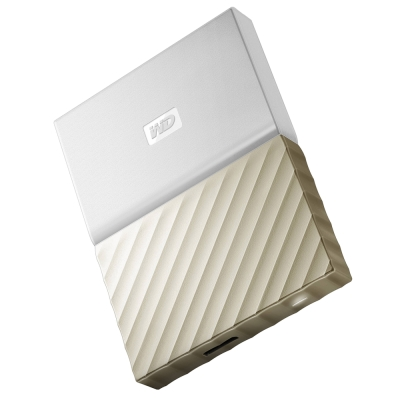 WD My Passport Ultra 4TB 2.5吋行動硬碟-白金
