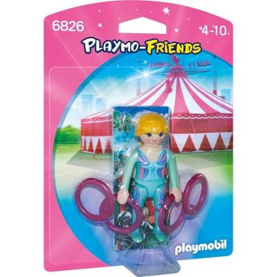 playmobil-雜耍女生