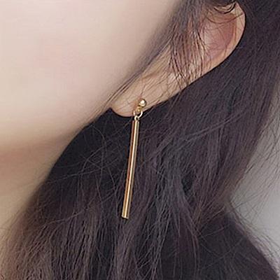 Hera 赫拉 歐美簡約不對稱幾何五角星耳針耳環-4款