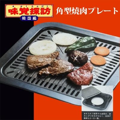 日本進口 味覺探訪方形燒烤盤 MR-7386
