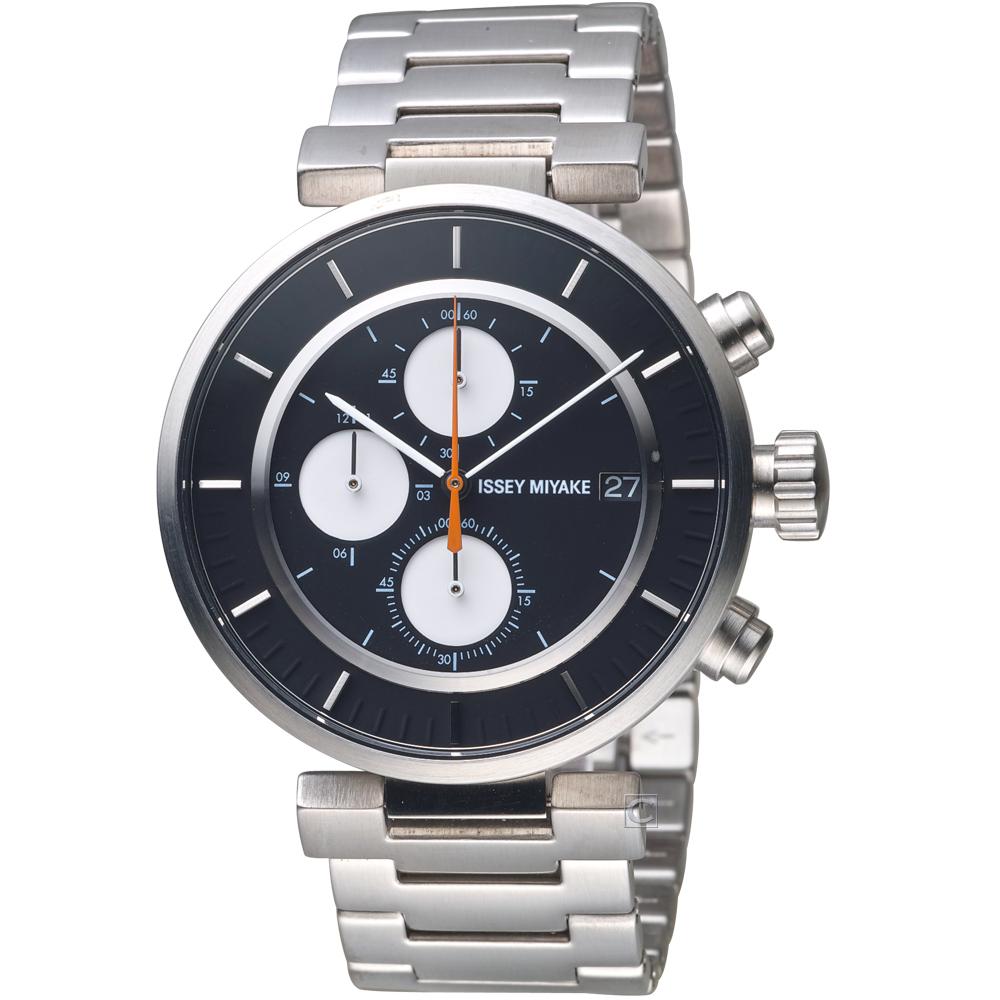 ISSEY MIYAKE三宅一生W系列強勁計時腕錶(VK67-0010D)