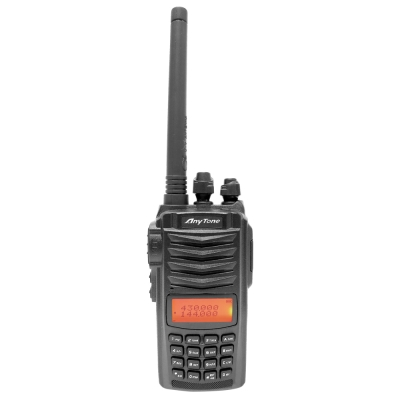 【AnyTone】雙頻雙顯示無線電對講機 AT-588GUV