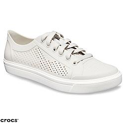 Crocs 卡駱馳 (女鞋) 街頭洛卡繫帶鞋 204884-101