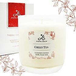 ThaiScent泰香 經典綠茶植物蠟香氛蠟燭165g