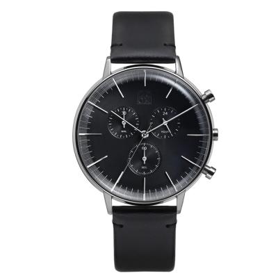 ZOOM REFINE 純粹經典計時腕錶-黑 /44mm