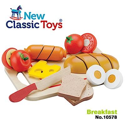 【荷蘭New Classic Toys】輕食早餐切切樂10件組 - 10578