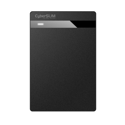 CyberSLIM V25U3 2.5吋 USB3.0 硬碟外接盒(黑)