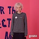gozo 宇宙星球繡縫設計上衣(二色)