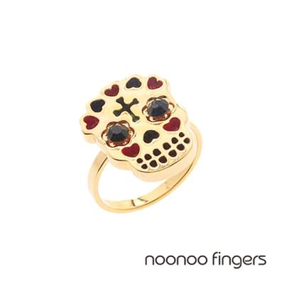 Noonoo Fingers Skull Ring 骷顱頭 戒指