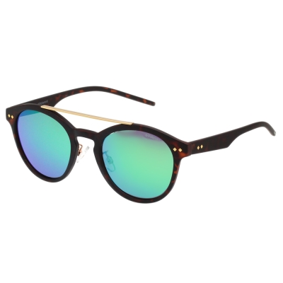 Polaroid 寶麗萊 水銀面 偏光太陽眼鏡 (琥珀色)