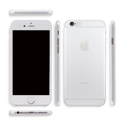 透明殼專家 iPhone6 Plus 5.5吋 極薄.霧面抗指紋保護殼+保貼組