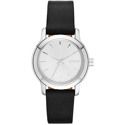 DKNY Tompkins 紐約精湛時裝三色套錶-銀/32mm