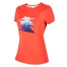 【Berghaus 貝豪斯】女款銀離子短袖T恤S04F07-紅