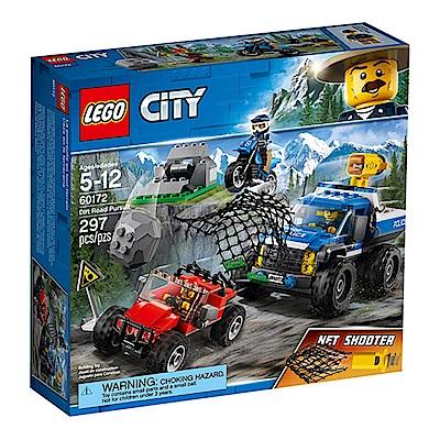 LEGO樂高 城市系列 60172 泥路追擊