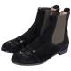 Charlotte Olympia CHELSEA CATS貓咪麂皮短靴(黑色) product thumbnail 1