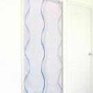 布安於室-多曲線條風水簾-灰色底