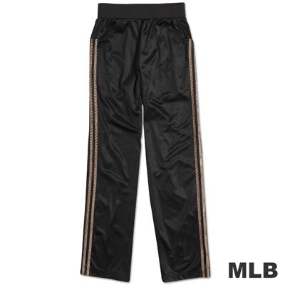 MLB-紐約洋基隊電繡動物紋運動長褲-黑(女)