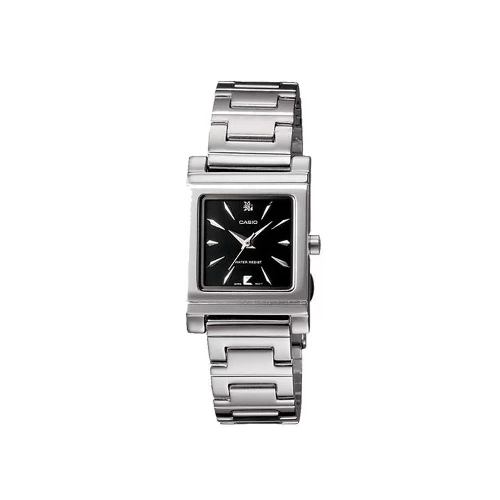 CASIO 知性神采氣質型女錶腕(LTP-1237D-1A2)-黑/20mm