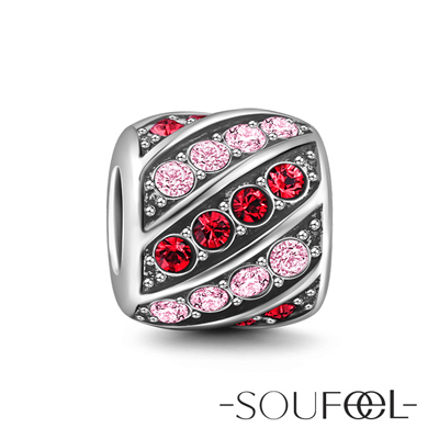 SOUFEEL索菲爾 925純銀珠飾 關懷 串珠