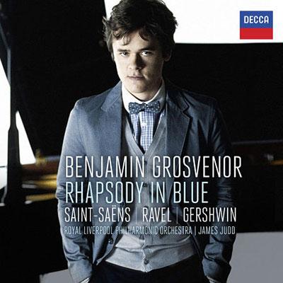 藍色狂想曲 / 葛羅斯文諾,鋼琴 / 朱德(指揮) 皇家利物浦愛樂管弦樂團