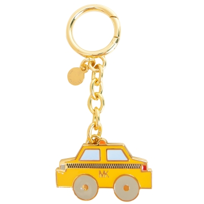 MICHAEL KORS 計程車鑰匙圈(黃)