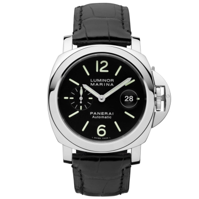 PANERAI 沛納海 PAM00104 經典小秒針日期顯示腕錶-44mm