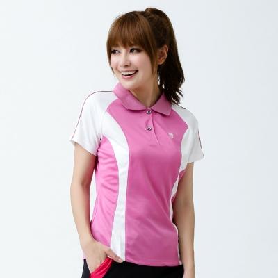 【遊遍天下】女款抗UV吸濕排汗機能POLO衫MS012紅